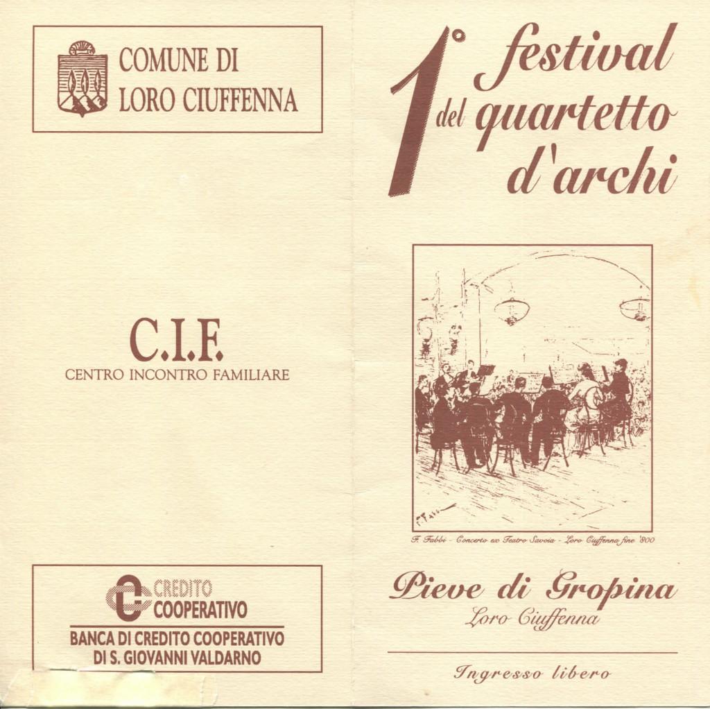 String quartet festival gropina 1994