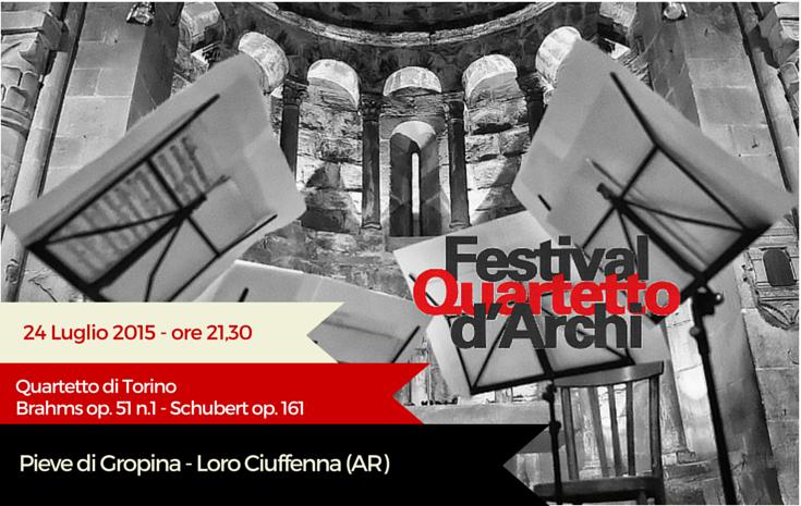 23/24 Luglio 2015 –  Quartetto di Torino