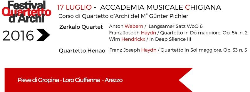 17 Luglio 2016 – Accademia Musicale Chigiana