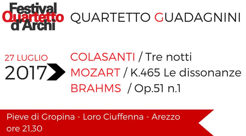 Quartetto Guadagnini – 27 luglio 2017