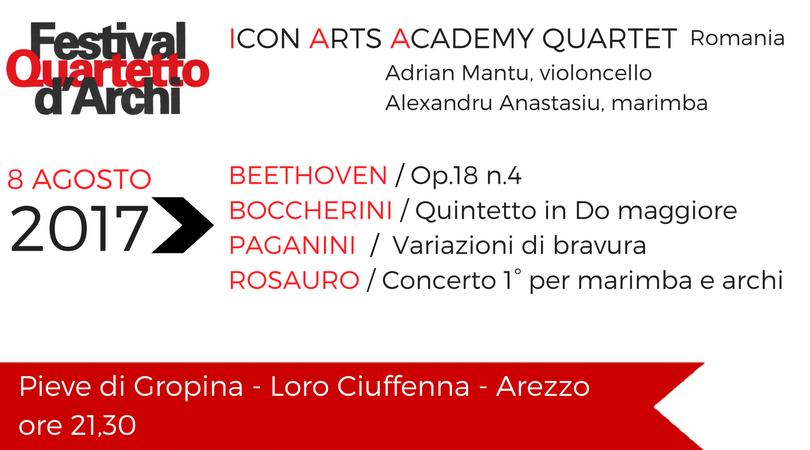 ICon Arts Academy – 8 AGOSTO 2017